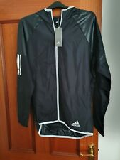 Mens Adidas running jacket size L in Black