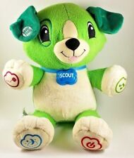 Leap Frog Plush Puppy My Pal Scout Talking Singing Puppy Interactive Dog- Tested