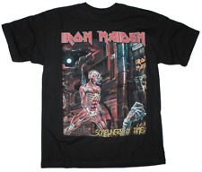 """New listing IRON MAIDEN """"SOMEWHERE IN TIME 1986"""" T-shirt - Tee Gift 100% Cotton S-5XL NEW"""