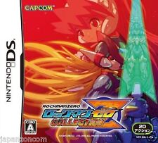 Used DS Capcom RockMan Zero Collection NINTENDO JAPANESE IMPORT