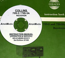 COLLINS 75S-3 75S-3A Receiver Instruction Manual