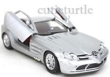 Motormax Mercedes Benz SLR Mclaren 1:24 Diecast Silver