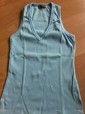 Marca Bershka (Grupo Zara) - Camiseta Azul - Talla M - Algodón