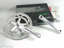 Campagnolo Veloce Crankset 10 Speed 170mm NIB 53-39 bolts Exa Drive NOS