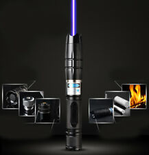 BZ2  Adjustable Focus 450nm Blue Laser Pointer pen Laser Beam Laser Torch Pen
