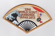 2015 World Scout Jamboree OFFICIAL FAN SOUVENIR Patch (WAVE)