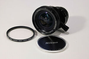 Nikkor PC Lens 28mm f3.5, perspective control, like new,