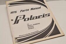 Vintage Polaris Parts Manual 9910310 1975 TC Snowmobile OEM Genuine