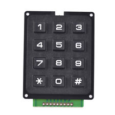 4 x 3 Matrix Array 12 Keys 4*3 Switch Keypad Keyboard Module for Arduino Nice UK