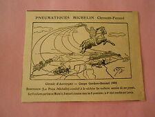 Pneumatique Michelin Binbendeum conduit la victoire  Humour Print 1905