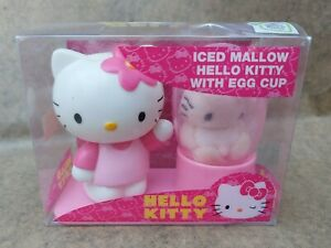 """Hello Kitty - Iced Mallow with  Egg Cup .Rare!! """"Boxed"""""""