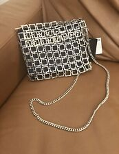 Zara Metal Mesh Cross Body / Shoulder Bag Bnwt
