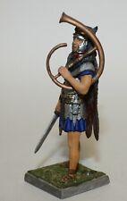 St Petersburg Russian Painted Toy Soldier Roman Wolf Skin Horn Sword