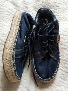 Pepe Denim Shoes Size 5