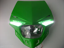 UFO camino legal Faro Enduro Trial Streetfighter Kawasaki KXF Klx Kdx Kmx ZXR