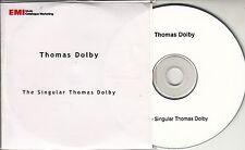 THOMAS DOLBY The Singular Thomas Dolby 2009 UK 19-track promo test CD