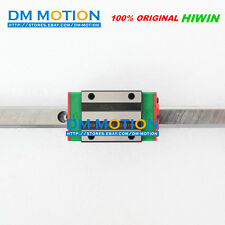 100% Genuine HIWIN HGR20 1000mm Linear guide rail 2Pcs + 4Pcs HGH20CA carriages