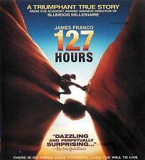 127 Hours ~ James Franco Amber Tamblyn ~ Blu-ray Disc ~ FREE Shipping USA