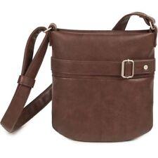 Bolsos de mujer bandolera color principal marrón sintético
