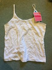 97c54617f14 Jockey Girls Youth Cotton Camisole Bra Bras Bralette Size Medium (16) XL  White
