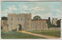 Essex postcard - St Osyth Priory - P/U 1906 (A516)