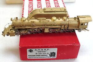 Westside Model Co. Brass  ATSF SANTA FE 2-10-10-2 '3000' - HO