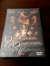 DUNGEONS & DRAGONS DRAGONES Y MAZMORRAS - ED 1 DVD - NUEVO EMBALADO - NEW SEALED