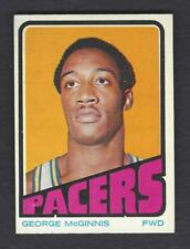 1972 TOPPS #183 GEORGE McGINNIS INDIANA PACERS ROOKIE NM-MT