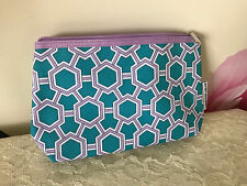 """Clinique Make Up Bag From Jonathan Adler Brand New Approx. 9.5"""" x 2.5"""" x 5"""""""