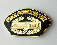 United States USA Iraqi Freedom Combat CAB Veteran Lapel Pin Badge 1 inch