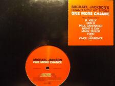 MICHAEL JACKSON - ONE MORE CHANCE (REMIXES) (VINYL 2EP) 2003!!  RARE!!  R. KELLY