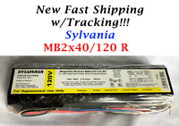 Sylvania MB2x40/120 RS 120V Magnetic Ballast for two 4 ft F34/F40 T12 FLUR bulbs