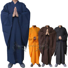 High Quality Shaolin Temple Buddhist Monk Dress Gown Meditation Haiqing Robe
