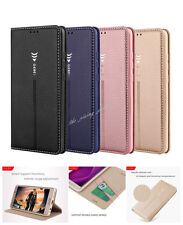 Luxury Flip Magnetic Case Wallet Leather Cover For Huawei P10 Plus Mate 9 10 Pro