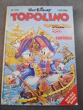 TOPOLINO n° 1774 del 19 NOVEMBRE 1989 con CARTELLA TOMBOLA ALLEGATA