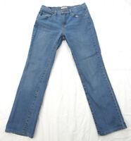 """Women's Levi's 505 Straight Leg Denim Blue Jeans Size 10 M 28x29"""" Cotton Blend"""