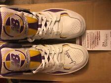 james worthy signed signature shoes new balance