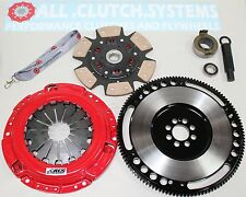 ACS STAGE 3 CLUTCH KIT+RACE FLYWHEEL FITS HONDA ACCORD/PRELUDE 2.2L 2.3L