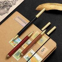 Vintage Kugelschreiber Holz Messing Gelschreiber Schreibwaren Gelschreiber H8T7