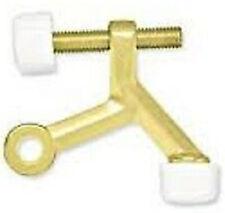 Brainerd Hinge Pin Door Stop Polished Brass B6258