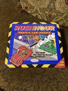 1996 Binary Arts Rush Hour Traffic Jam Puzzle Game LN