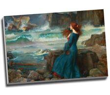 "John William Waterhouse Miranda The Tempest Canvas Print Large 30x20"""