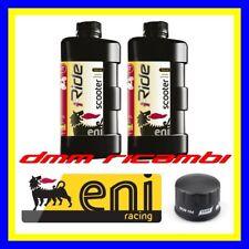 Kit Tagliando PIAGGIO BEVERLY 500 02>03 + Filtro Olio ENI iRIDE 10W40 2002 2003
