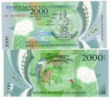 Vanuatu 2000 2.000 Vatu 2014   in polimeri  FDS UNC