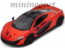 MOTORMAX 79325 MCLAREN P1 1/24 DIECAST MODEL CAR ORANGE