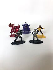 Jada Nano Metalfigs Marvel Lot of 5 Scarlet Witch Bizaro Wolverine Cat Woman