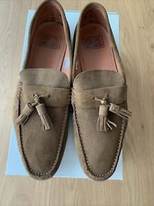 Ask The Missus MensTan Loafers Size 10