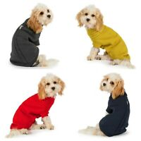 Ancol Cable Knit Jumper Sweater Knitwear Winter Coat Clothes