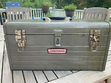 Vintage Sears Craftsman 6500 Mechanics Tool Box w Tray Solid Condition