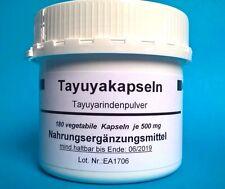 Tayuya  180 Kapseln x  500 mg Tayuyapulver (24,22 €/ 100g) Tayuyawurzel